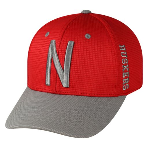 Adult Top of the World Nebraska Cornhuskers Booster Plus One-Fit Cap