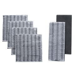 Food Network™ Awning Stripe 2-pack Kitchen Towel and 4-pack Dishcloth Set