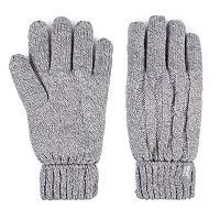 Women's Heat Holders Thermal Cable-Knit Gloves