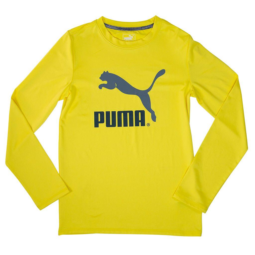 Boys 4-7 PUMA dryCELL Logo Tee