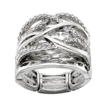 Crisscross Stretch Ring