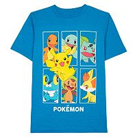 Boys 8-20 Pokémon Box Tee