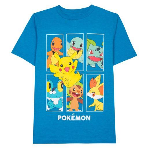 Boys 8-20 Pokémon Box Tee