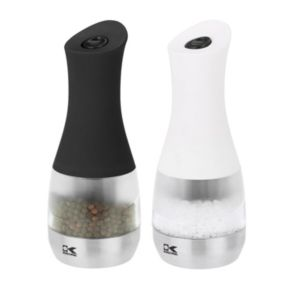 Kalorik Electric Salt & Pepper Grinder Set