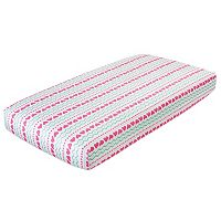 aden by aden + anais Muslin Fitted Crib Sheet