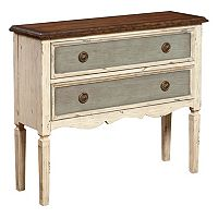 Maurice Three-Tone 2-Drawer Hall Dresser