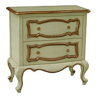 Stalham Mint Green 2-Drawer Accent Dresser