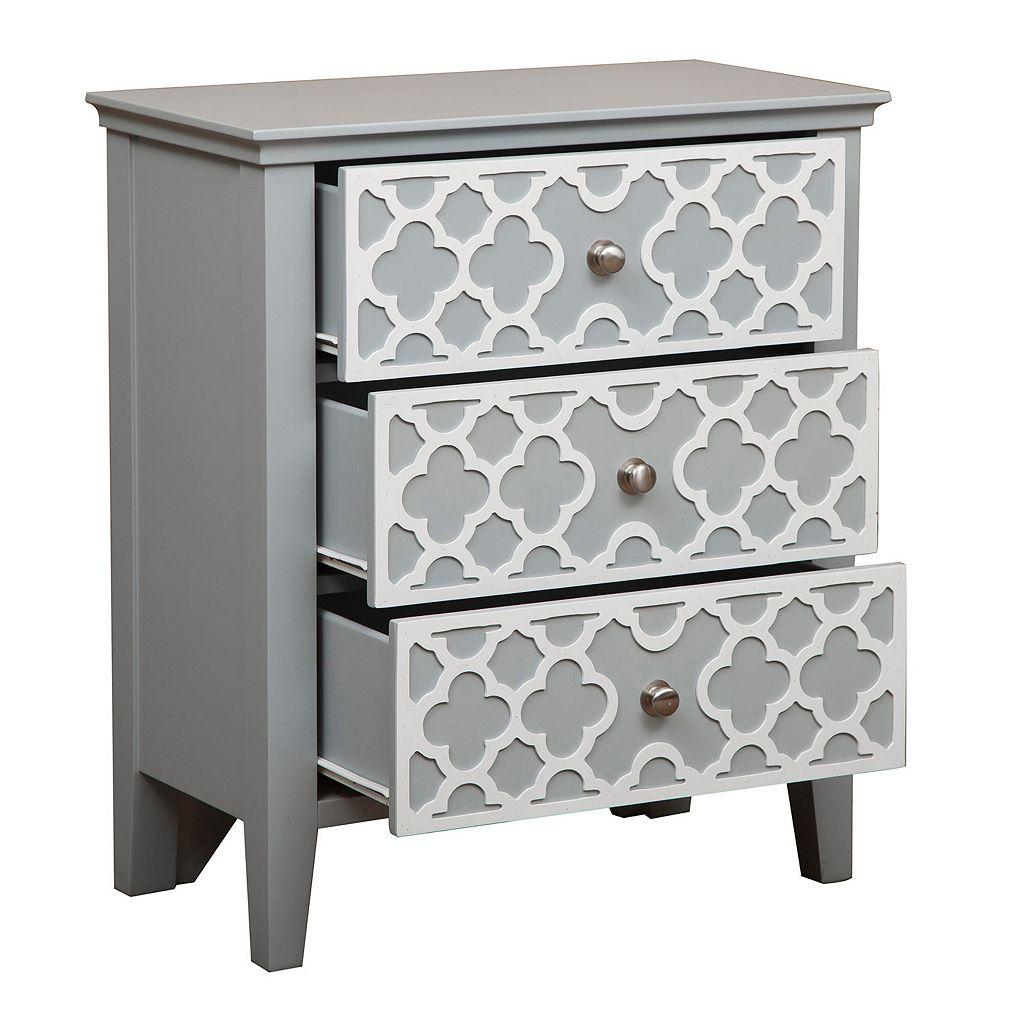 Prescot 3-Drawer Storage Dresser