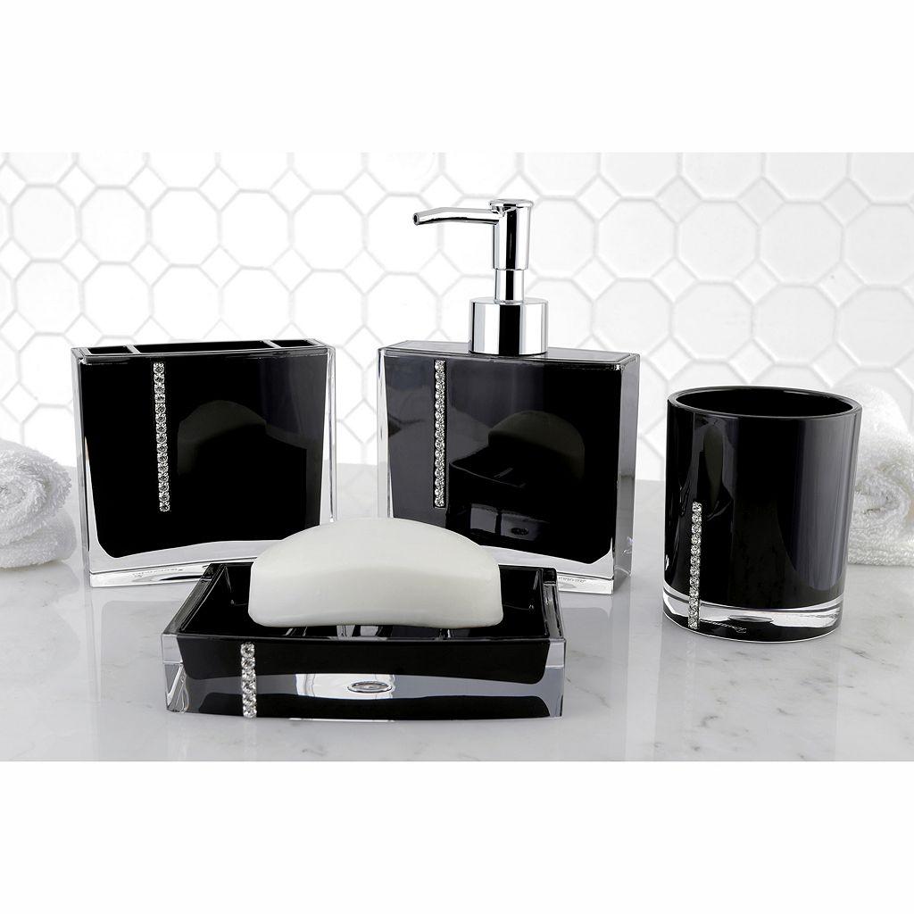 Crystal 4-piece Bathroom Accessories Set