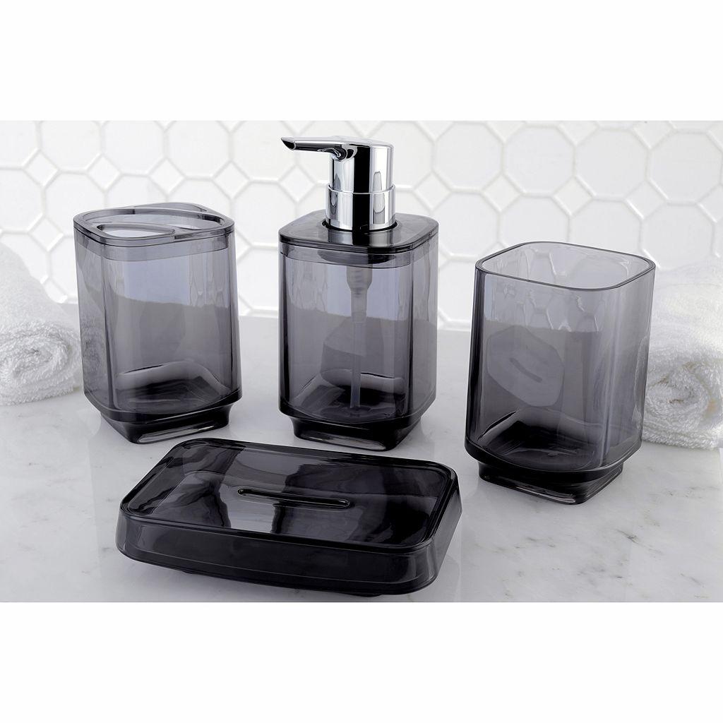 Translucent 4-piece Bathroom Accessories Set
