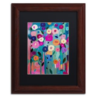 Trademark Fine Art Nurture Your Soul Framed Wall Art