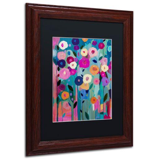 Trademark Fine Art Nurture Your Soul Framed Wall Art