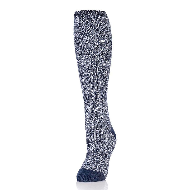 Women's Heat Holders Thermal Twist Knee-High Socks, Size: 5-9, Multicolor Keep your feet and calves warm with these women's Heat Holders thermal crew socks. Knee-high styling Elastic foot and ankle Thermal heat TOG rating: 2.34 Non-binding Help with circulation Fabric & Care Acrylic, nylon, polyester, elastic Machine wash Imported Size: 5-9. Color: Multicolor. Gender: Female. Age Group: Adult.