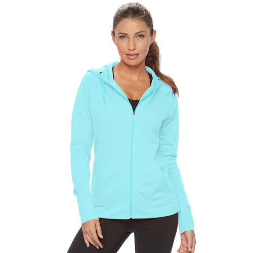 Women's Champion Performance Raglan Zip Up Hoodie