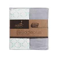 aden by aden + anais 2-pk. Bitsy Silky Soft SwaddlePlus Muslin Swaddles