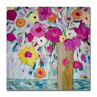 Trademark Fine Art Sunshine Daydream Canvas Wall Art