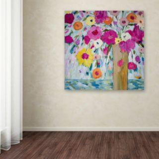 Trademark Fine Art Sunshine Daydream Canvas Wall Art