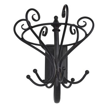 Parisian Home Filigree Coat Hanger Wall Decor