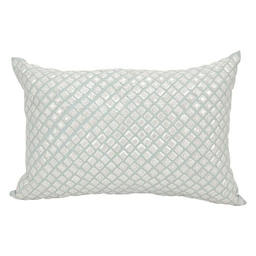 Mina Victory Couture Luster Sequins Throw Pillow