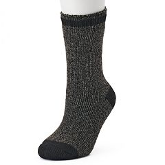 Women's Heat Holders Thermal Marled Crew Socks