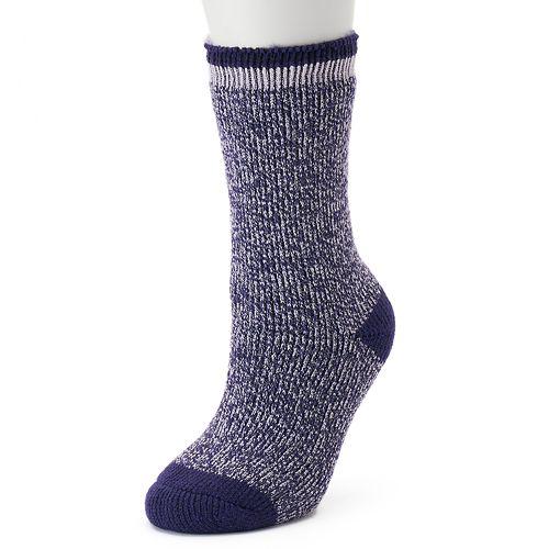 Women's Heat Holders Thermal Marled Crew Socks