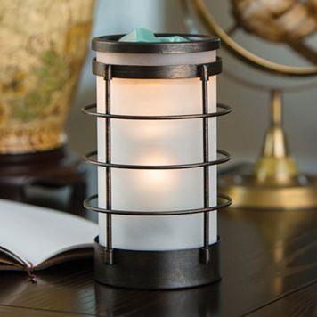 Candle Warmers Etc. Coastal Glass Illumination Wax Melt Warmer