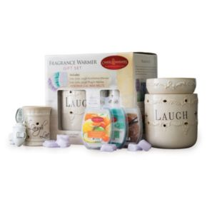 "Candle Warmers Etc. ""Live, Laugh, Love"" Wax Melt & Warmer 26-piece Set"