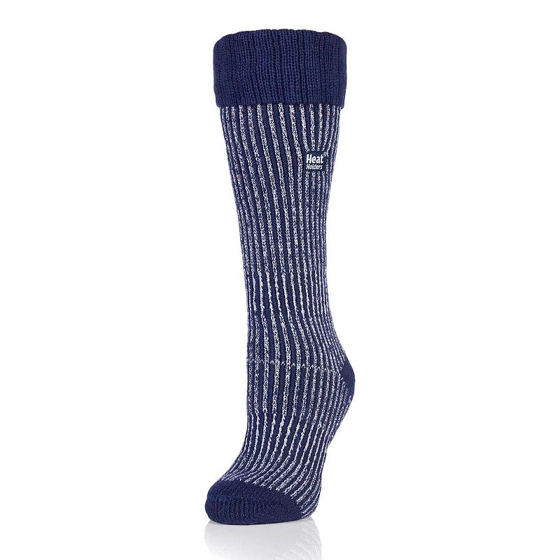 Women's Heat Holders Thermal Ribbed Crew Boot Socks, Size: 5-9, Multicolor These ultra cozy women's Heat Holders boot socks are made for the coldest of days with the thick thermal design. Crew boot styling Striped and ribbed accents Thermal heat TOG rating: 2.34 Non-binding Help with circulation Fabric & Care Acrylic, nylon, polyester, elastic Machine wash Imported Size: 5-9. Color: Multicolor. Gender: Female. Age Group: Adult.