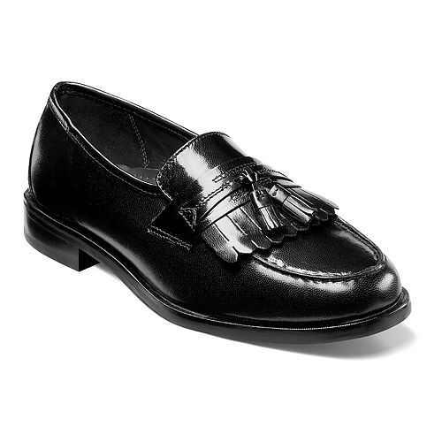 Nunn Bush Manning Men's Moc Toe Tassel Dress Loafers