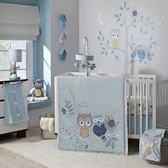 Happi by Dena Night Owl 4 pc Crib Bedding Set by Lambs & Ivy