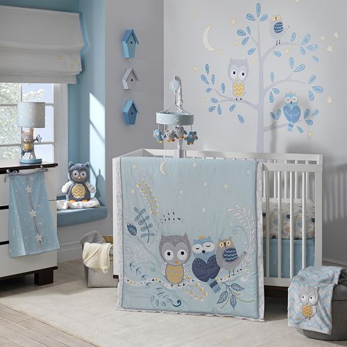 Happi By Dena Night Owl 4 Pc Crib Bedding Set By Lambs Amp Ivy