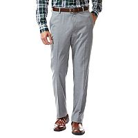 Men's Haggar® Straight-Fit Flat-Front Suit Pants