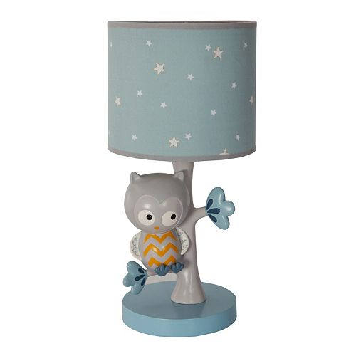 Happi by Dena Night Owl Lamp by Lambs & Ivy