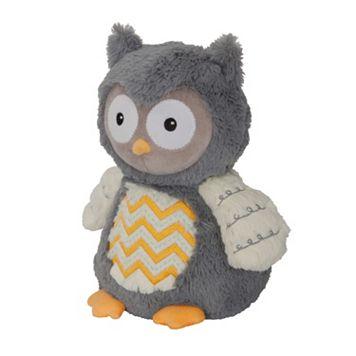 Happi by Dena Night Owl Plush Owl by Lambs & Ivy