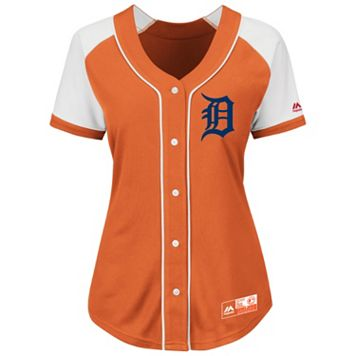 Plus Size Majestic Detroit Tigers Jersey