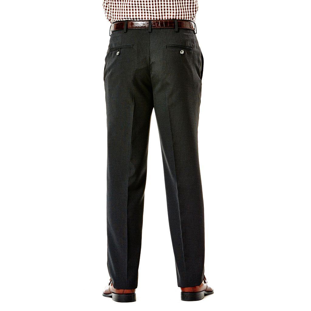 Men's Haggar® Suit Up System Slim-Fit Flat-Front Suit Pants
