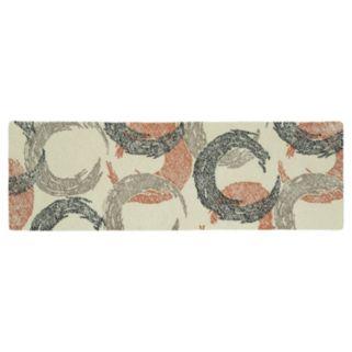Kaleen Montage Crescent Geometric Wool Rug