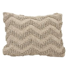 Mina Victory Loop Chevron Oblong Throw Pillow