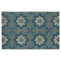 Kaleen Montage Daffodil Floral Wool Rug