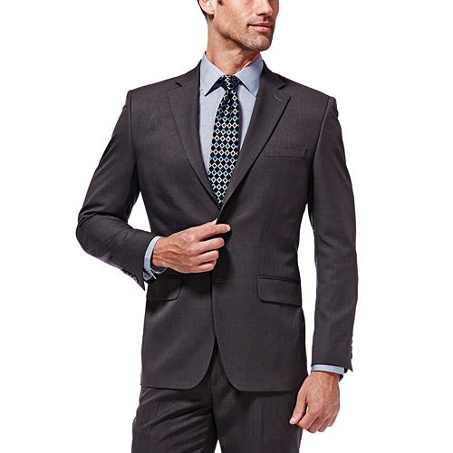 Men's Haggar® Travel Performance Tailored-Fit Suit Jacket