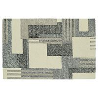 Kaleen Montage Modern Block Geometric Wool Rug
