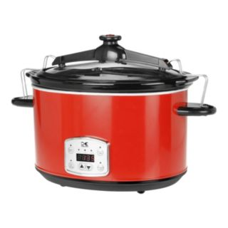 Kalorik 8-qt. Digital Slow Cooker with Locking Lid