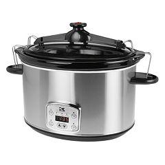 Kalorik 8-qt. Digital Slow Cooker with Locking Lid