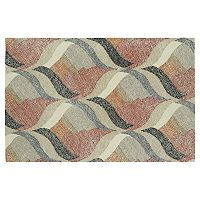 Kaleen Montage Hourglass Geometric Wool Rug