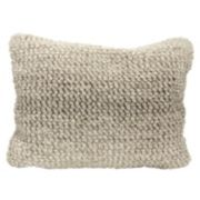 Mina Victory Ombre Loop Oblong Throw Pillow