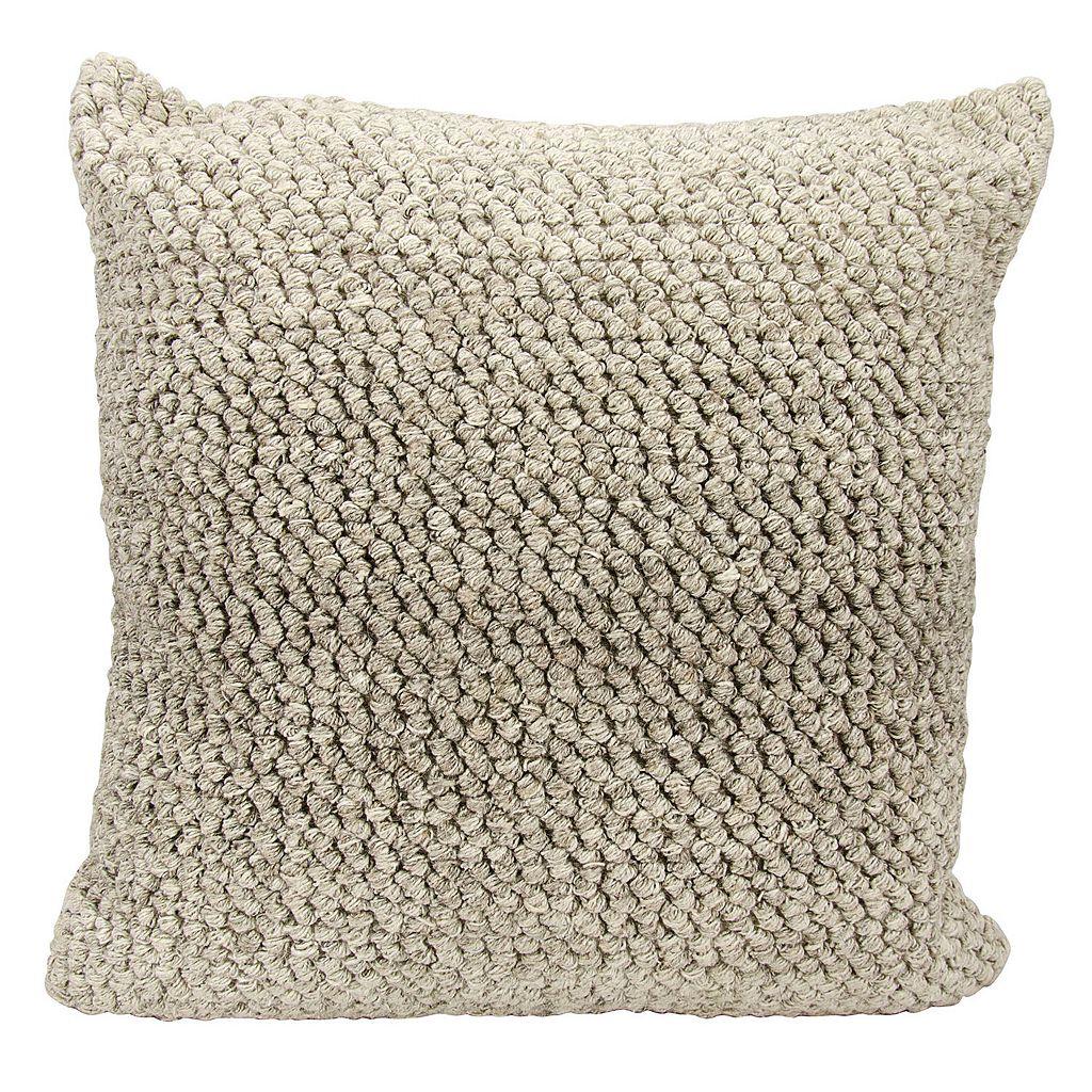 Joseph Abboud Ombre Loop Throw Pillow