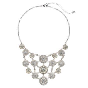 Croft & Barrow® Circle Statement Necklace