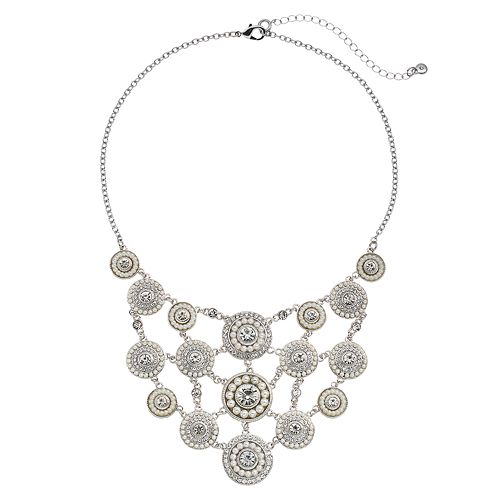 Croft & Barrow® Circle Statement Necklace