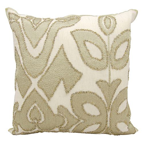 Kathy Ireland Abstract Collage Throw Pillow