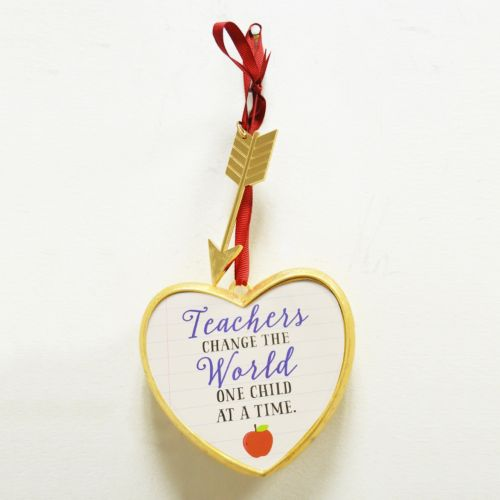 "New View ""Teachers Change The World"" Art A Gram Wall Decor"